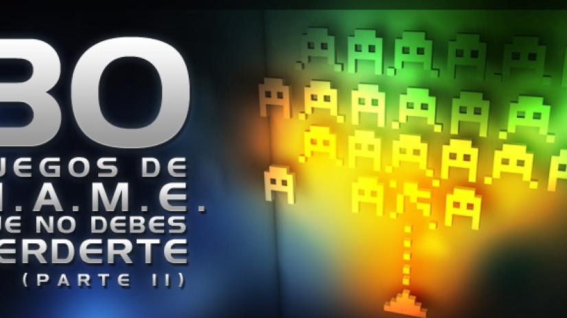 30 juegos de MAME que no debes perderte - PARTE II