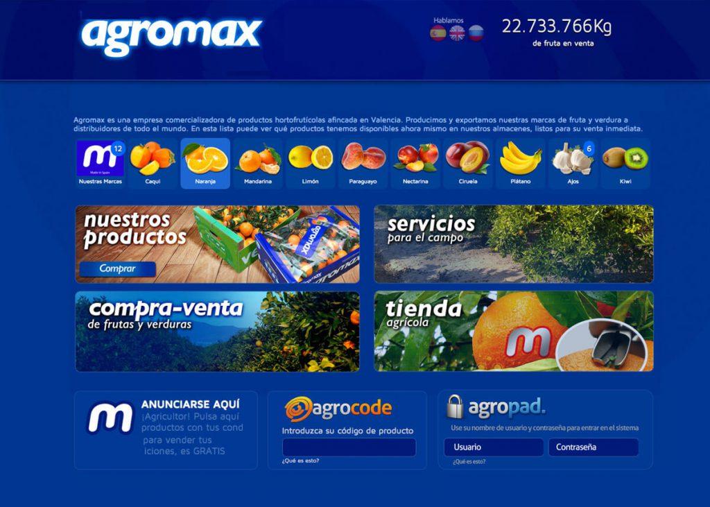 Agromax. Webs. 1